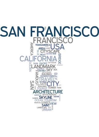 san: San Francisco word cloud
