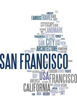 francisco: San Francisco word cloud