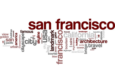 word cloud: San Francisco word cloud