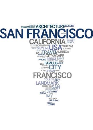 San Francisco word cloud
