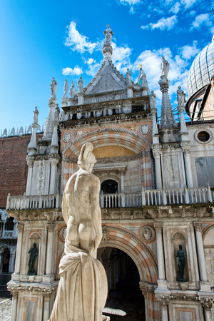 doges: Exterior of Palazzo Ducale (Doges Palace) in Venice, Italy