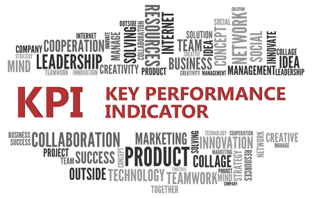 indicator: KPI - Key Performance Indicator | Business Abstract Concept