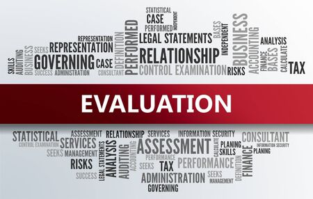 formative: EVALUATION | Business Abstract Concept