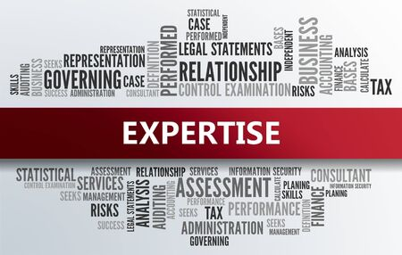 EXPERTISE | Business Abstract Concept