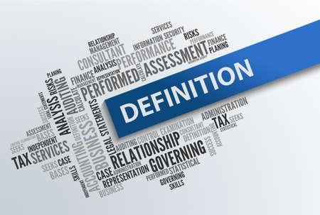 definicion: DEFINICI�N   Concepto de negocio abstracto