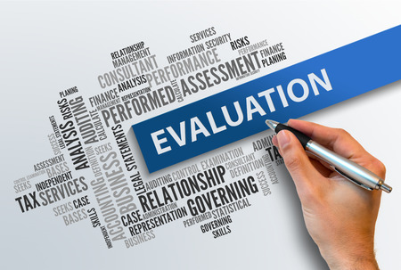 measurable: EVALUATION | Business Abstract Concept