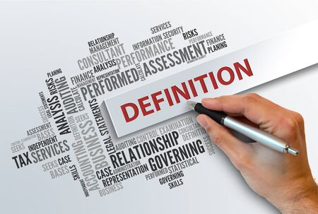 definition: DEFINITION | Business Abstract Concept