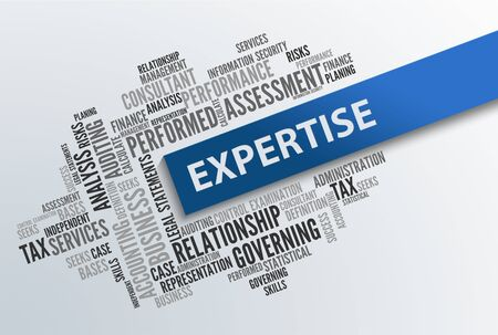 expertise: EXPERTISE | Business Abstract Concept Stock Photo