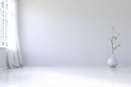 Muster Zimmer Mit Weien Wnden | Lwjacobs, Wohnzimmer Dekoo