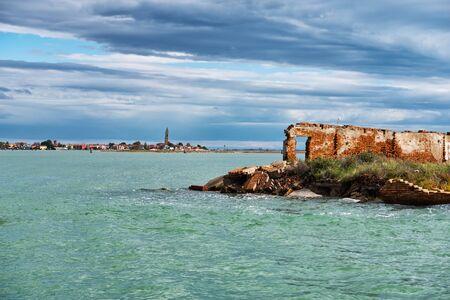 adriatic sea: Adriatic sea and Lagoon of Venice in Italy Stock Photo