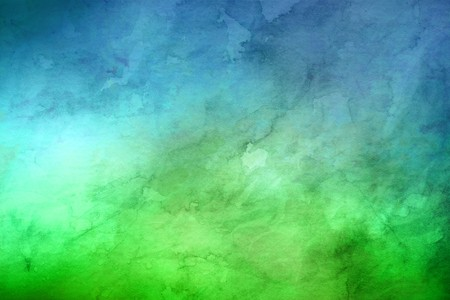 bright paintings: Blue and green marbled random background with copy space for marketing or concepts about the environment Stock Photo