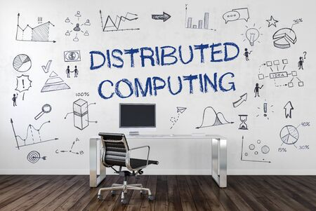 distributed: Distributed Computing. 3d Rendering.