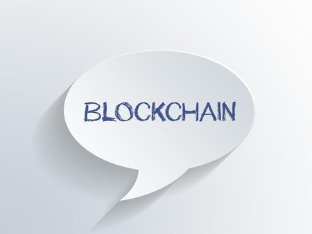 Blockchain 3D-Rendering