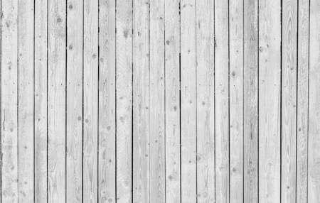 Weißer hölzerner rustikaler Plankenhintergrund Standard-Bild