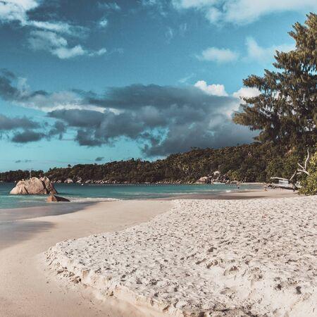 Der berühmte Anse Lazio Strand, Praslin, Seychellen