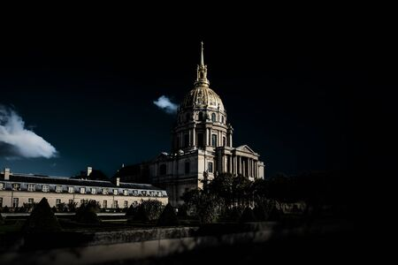 Cathedral Les Invalides in Paris, France