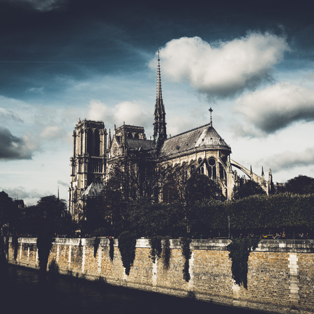 The Cathedral of Notre Dame de Paris, France Editorial