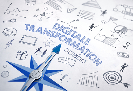 Digitale transformation (German for