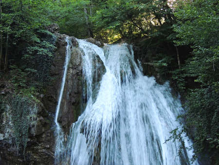 Waterfall Jur-Jur  Crimea  photo