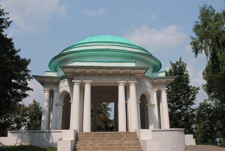 kirov: Rotunda in the Alexander Park of the city of Kirov  Russia