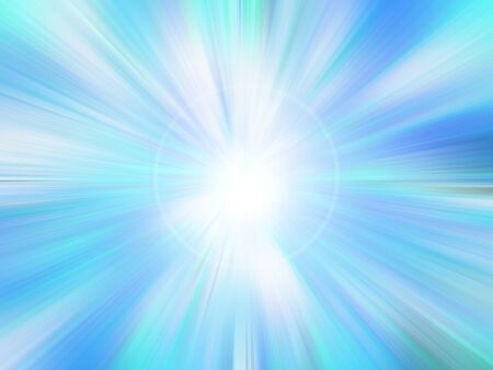 Abstract color radiant background with blur and glare. photo