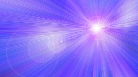 raster illustration: Abstract blue purple light effect background. Raster illustration.
