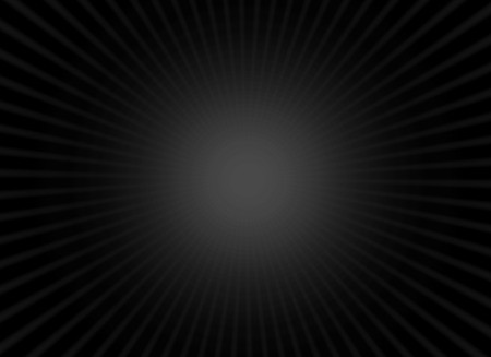 radiant light: Dark radiant black background with light effect Stock Photo