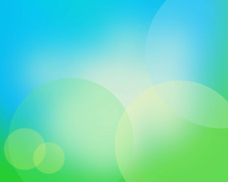 Spring and summer abstract background with bokeh