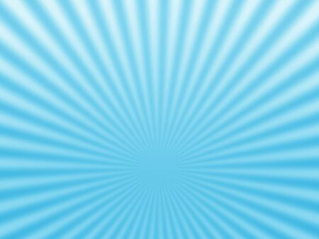 Blue radial rays background. Stock Photo