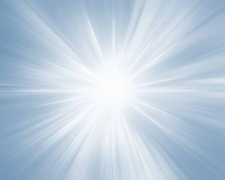 ブルースパークリング輝く星の背景、ラディアントバナー