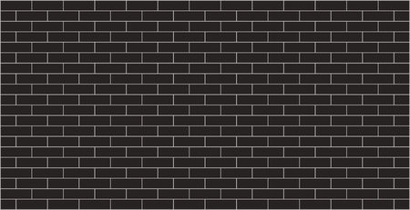 Black brick wall background texture Illusztráció