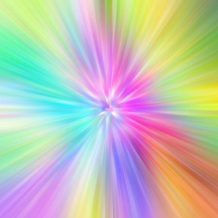Bright multicolored radiant psychedelic background. Banco de Imagens