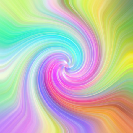 Abstract bright color psychedelic wave pattern.