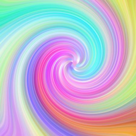 Streszczenie tęcza wirowa kolorowy wzór tła.