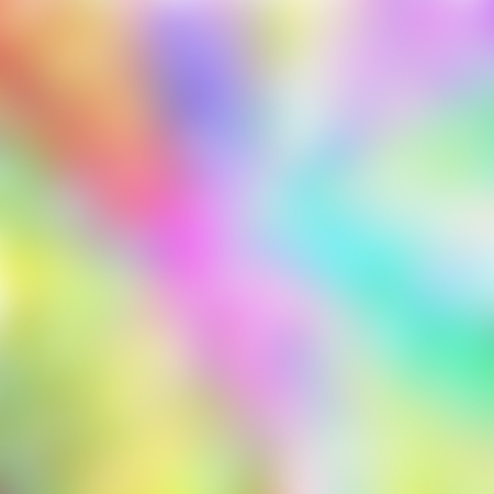 Colorful blurred rainbow holographic background. Banco de Imagens