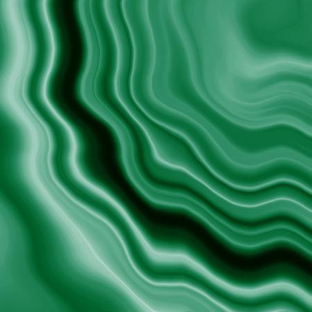 Green striped wavy background texture fabric malachite stone