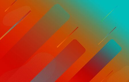 Abstract shape motion multicolored gradient background.
