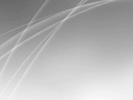 Abstract gray white wave pattern line art design background frame template with clean space for your text.
