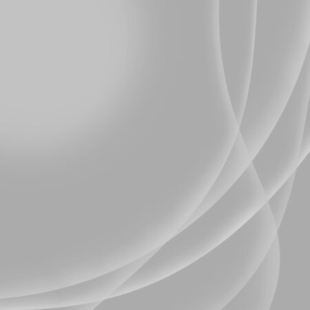 Abstract gray light background with wavy lines and copy space for text.