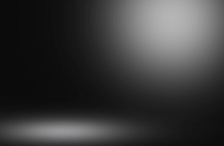 Abstract luminous background empty room lighting Studio with empty space for your design.