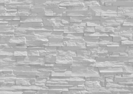 White old decorative stone wall texture background banner with clean space for your design.