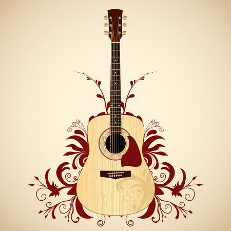 acoustic guitar: Acoustic guitar