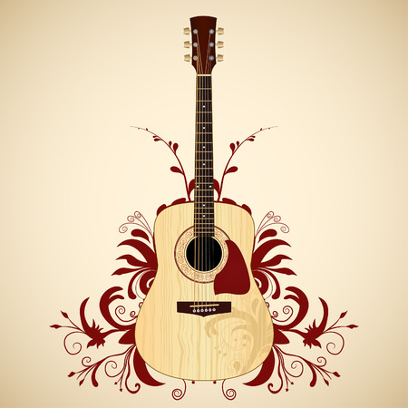 guitarra acustica: Guitarra acústica