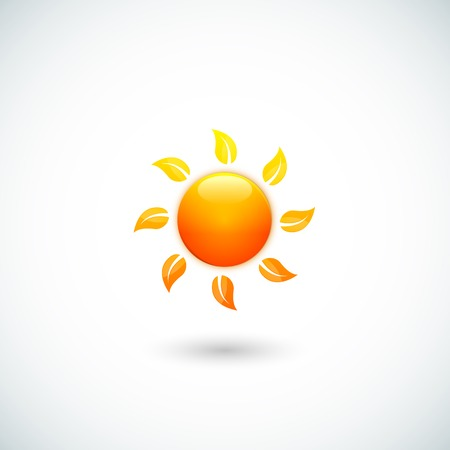 synopsis: Vector illustration of sun