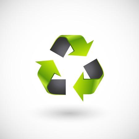 recycle logo: Vector recycle logo