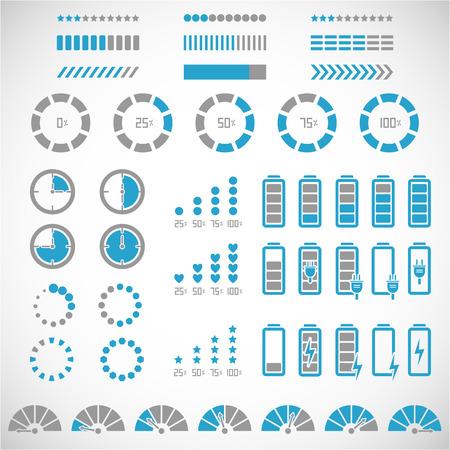 graficos de barras: Colecci�n Indicadores