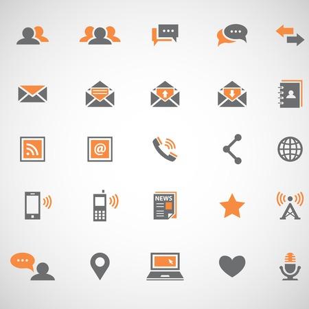 communication: Communication icons Illustration