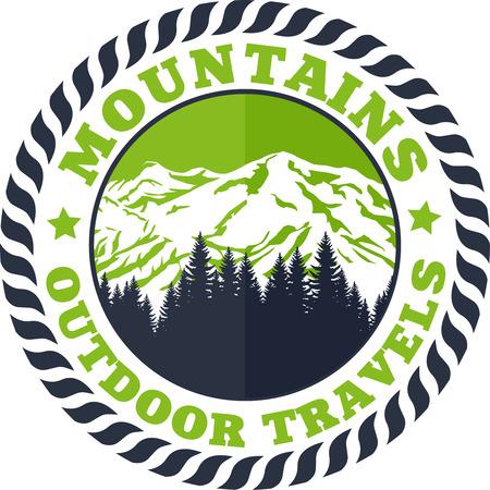 Mountains Emblem