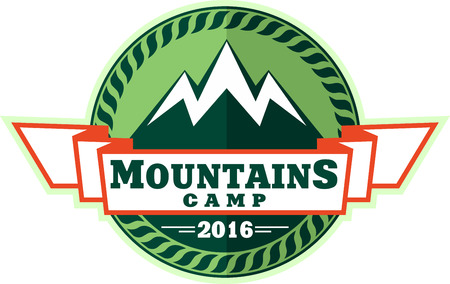 winter range: Mountains Emblem