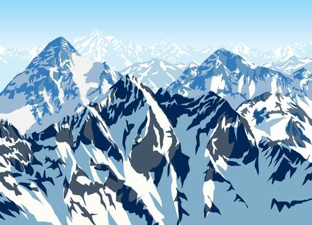 himalaya: Himalaya mountains landscape